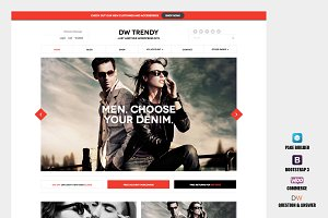 DW Trendy - WooCommerce WP Theme