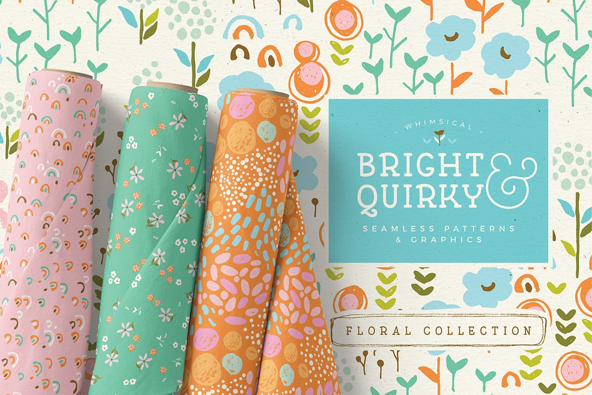 Bright & Quirky Graphics & Patterns