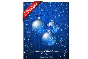 5 Elegant Christmas Greeting Cards