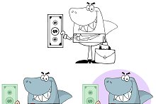 Business Shark. Collection Set