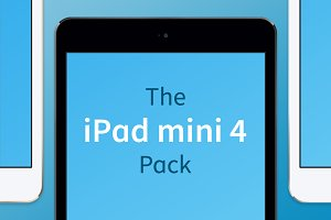 iPad mini 4 Vector Pack