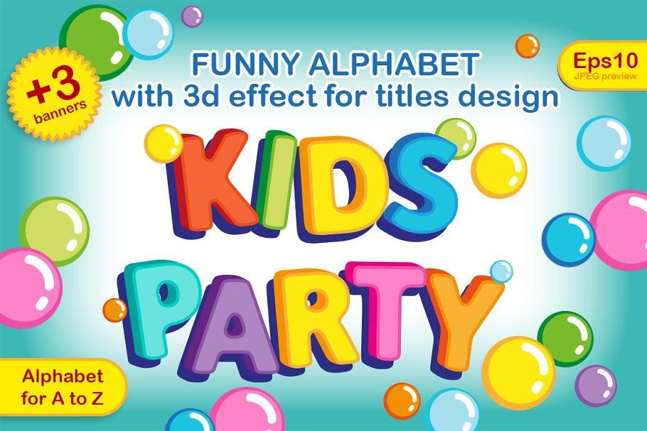 Funny Alphabet Fonts