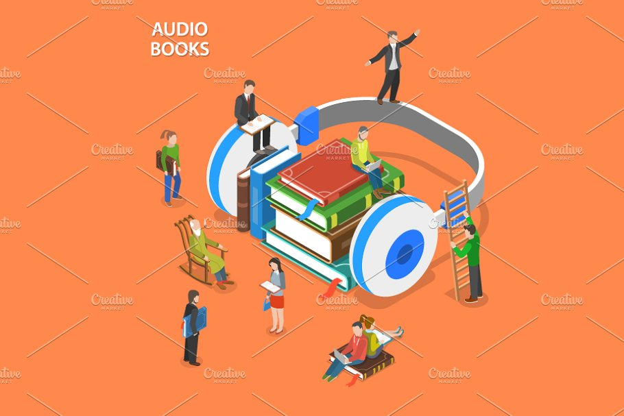 Audio books listening