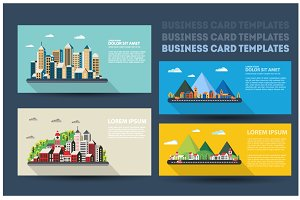 Business cards city