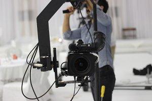 Jimmy jib Camera