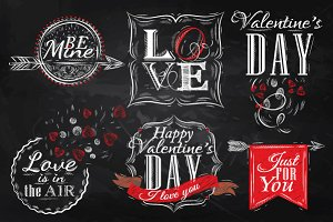 Set Valentine's Day