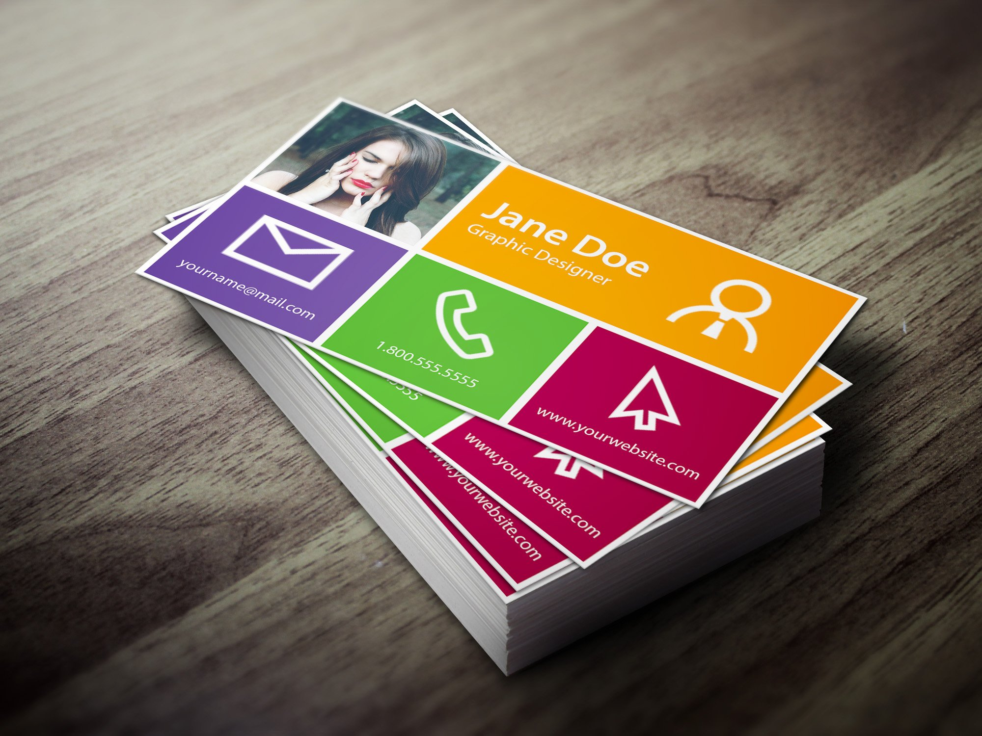 Metro Business Card Photos Graphics Fonts Themes Templates - Windows business card template