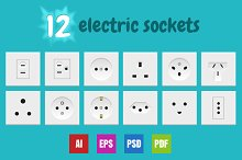 12 Electric Sockets