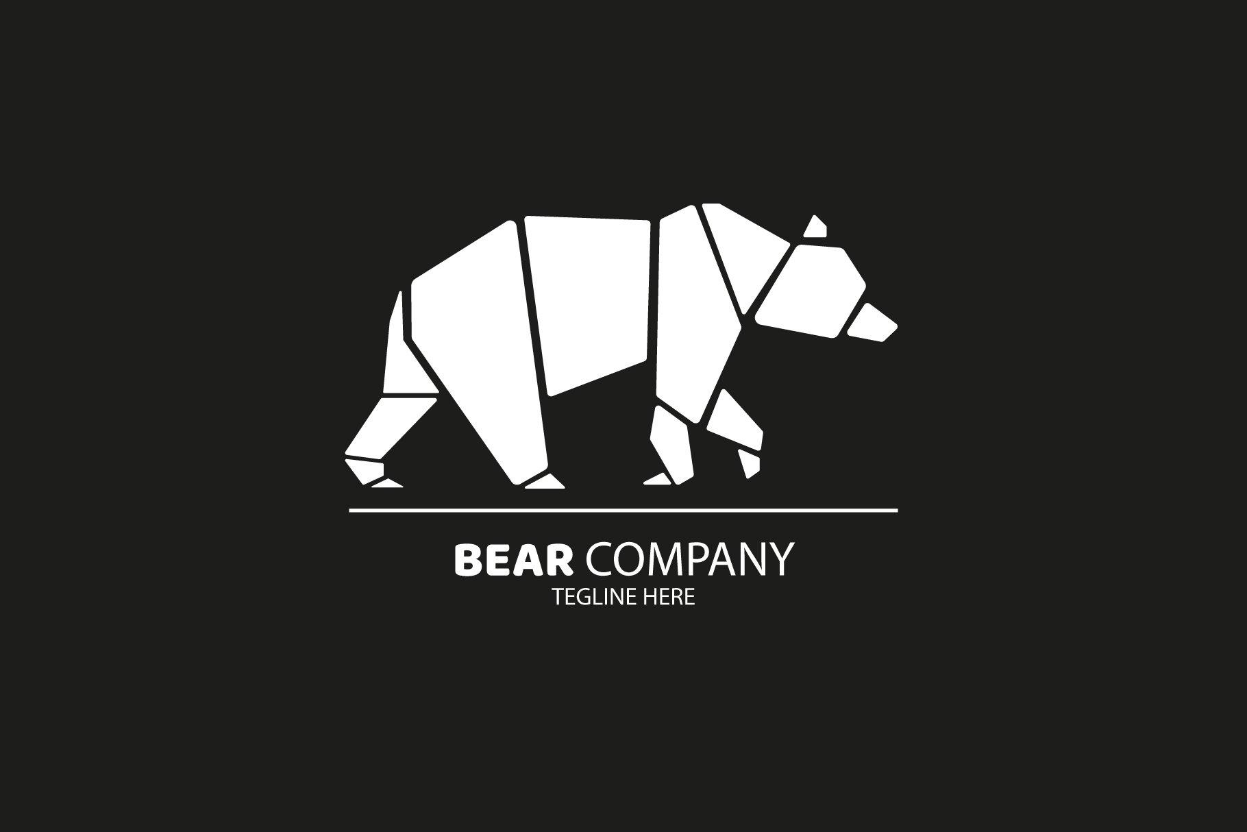 Polar Bear Logo Design ~ Logo Templates ~ Creative Market