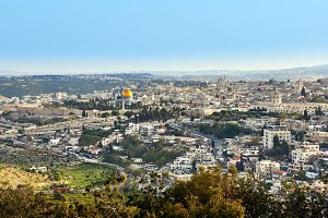 Jerusalem panoramic view