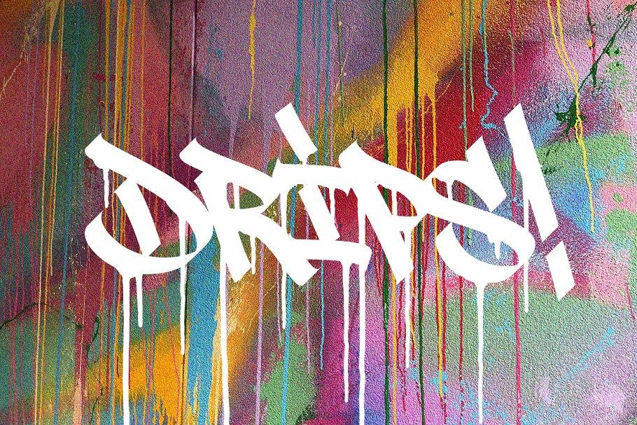 Graffiti Font | Street Tag Vol2