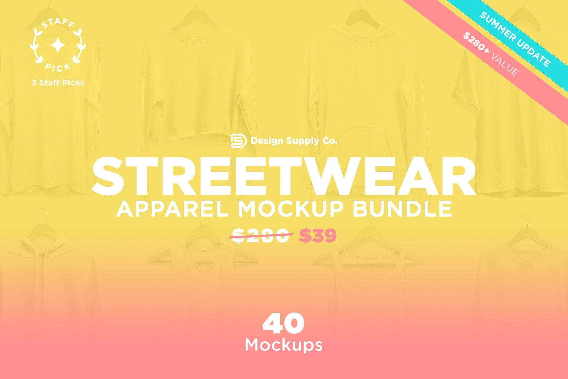 T Shirt Mockup Streetwear