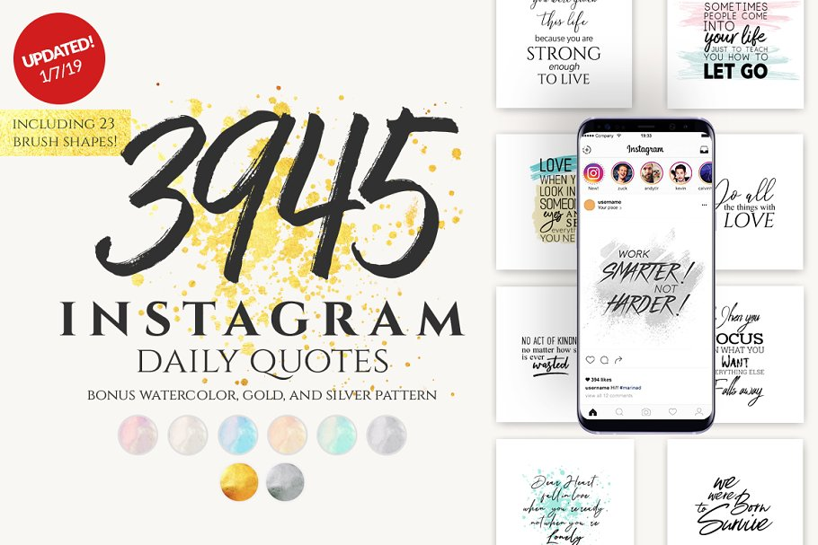 Instagram Social Media Quotes Free Download