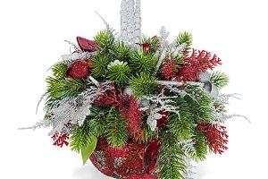 Christmas arrangement.