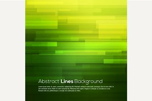 Green vector abstract background