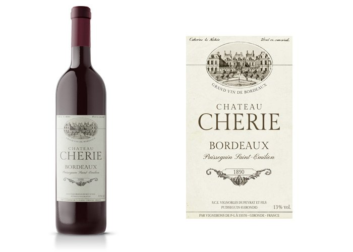 Fake Premium Wine Label ~ Logo Templates ~ Creative Market