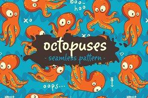 Boo-Hoo Octopuses pattern