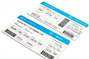 Fake Boarding Pass