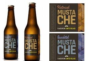 Fake Hipster Beer Brand