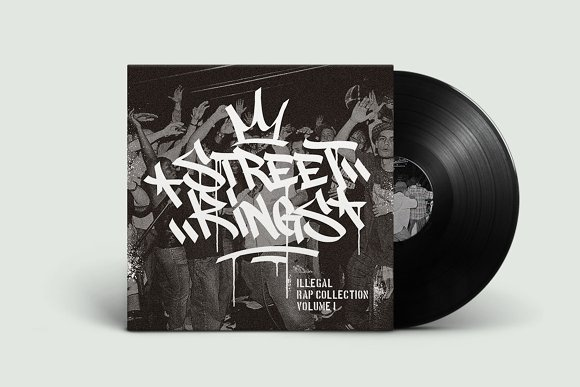 Graffiti Font | Street Tag Vol2 in Display Fonts - product preview 4