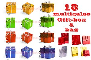 Gift-Box multicolor set