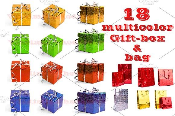 Gift-Box multicolor set