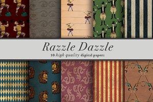 Razzle Dazzle 10 Digital Paper
