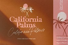 California Palms Fonts & Graphics