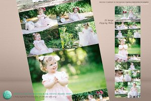 Photo Blog board Template 15 Images