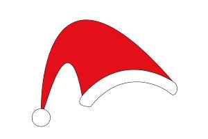 Christmas Santa Hat vector