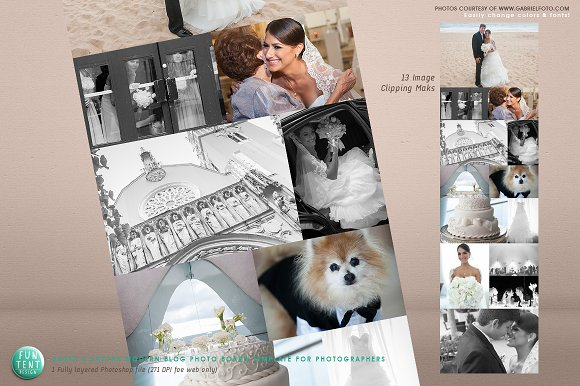 Photo Blog board Template 13 Images