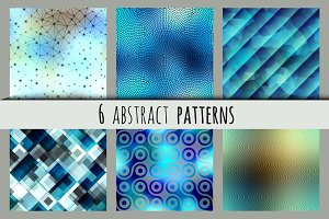 Set of abstract patterns.