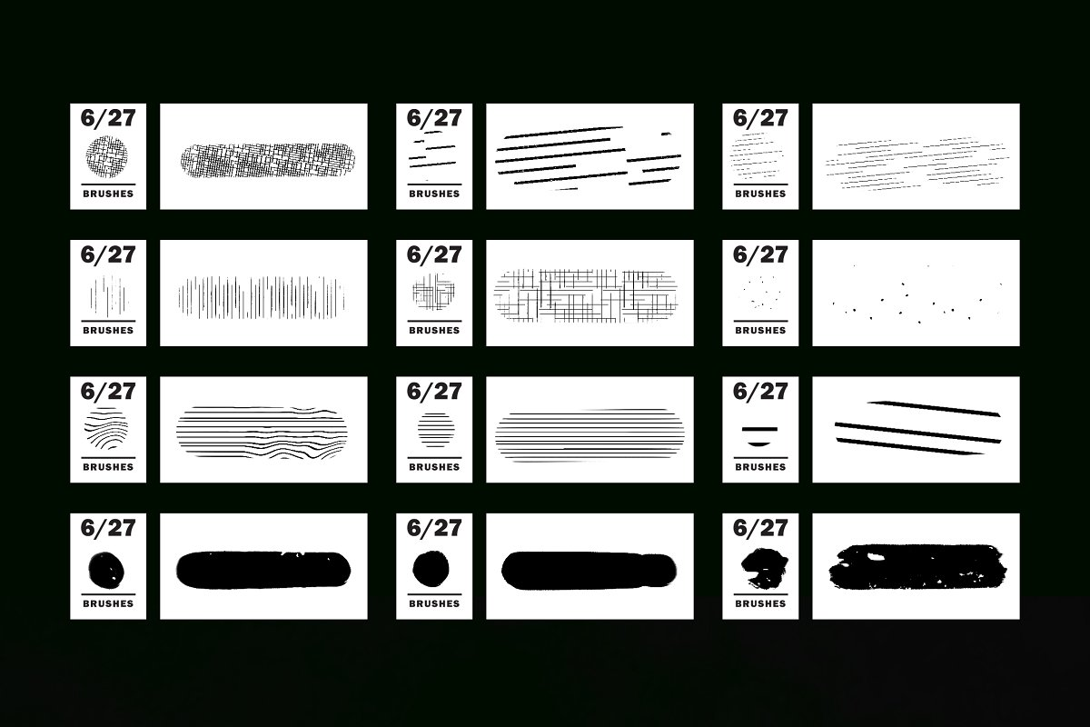 Comics & Halftone: Procreate Brushes