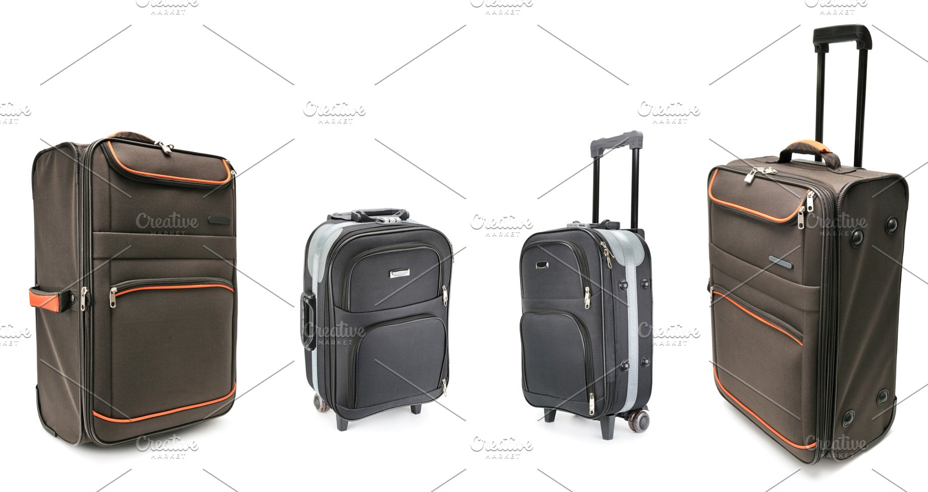 df798a80a81 Set of large suitcases for travel is