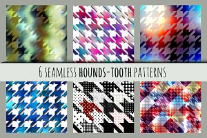 Unusual hounds-tooth patterns.