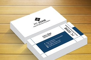 PC Zone Business Card