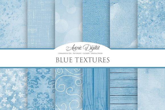 Blue Textures Background Creative Market
