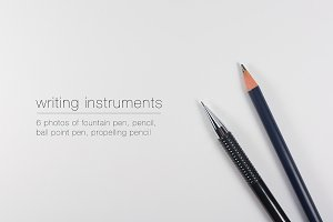 Writing Instruments - 6 photos pack