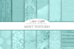 Mint Background Textures