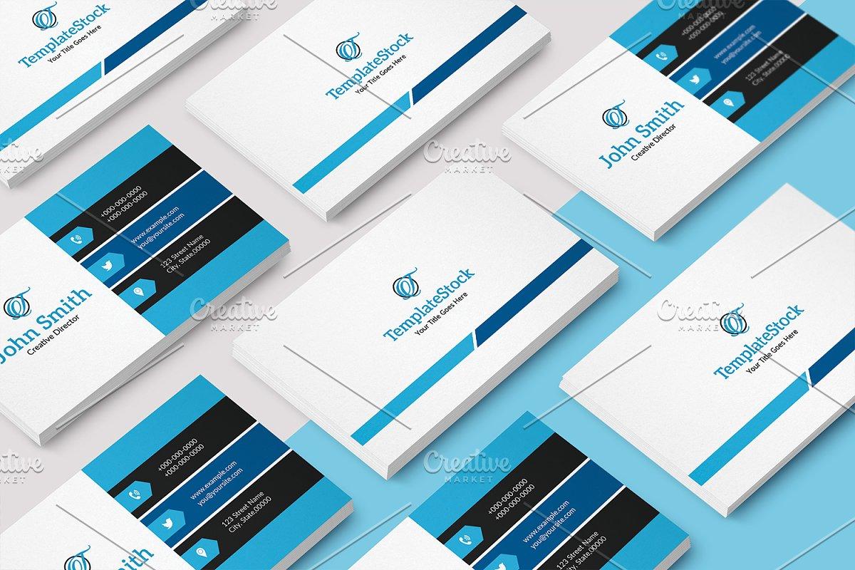 Simple & Minimal Business Card V31