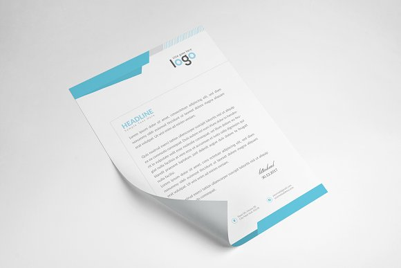 Creative Letterhead Template in Stationery Templates - product preview 5