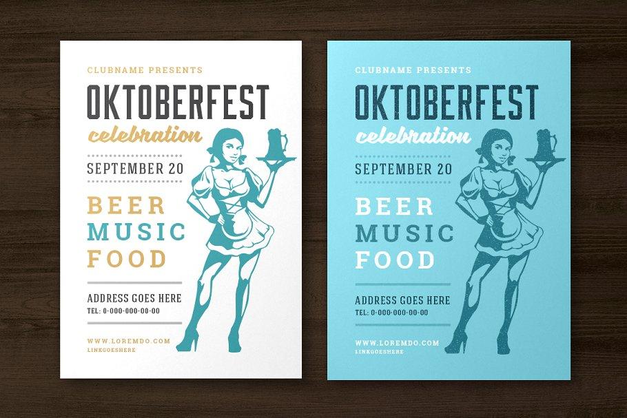 Oktoberfest Flyer Or Poster Template