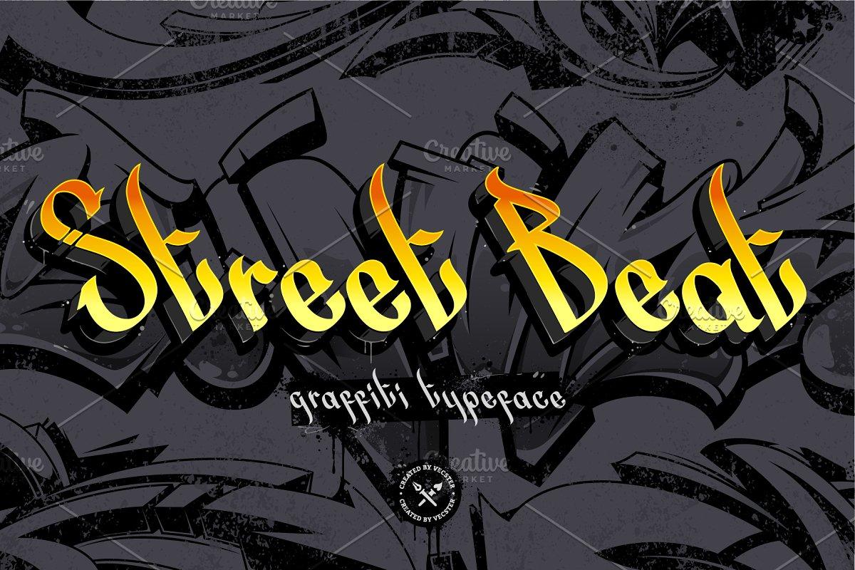 Street Beat Graffiti Typeface