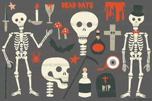 Dead Days Horror Illustrations