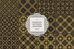 12 Luxury Seamless Patterns