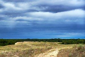 Prairie steppe landscape