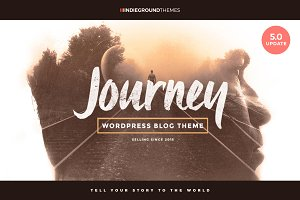 AUGUST SALE Journey - WP Blog Theme