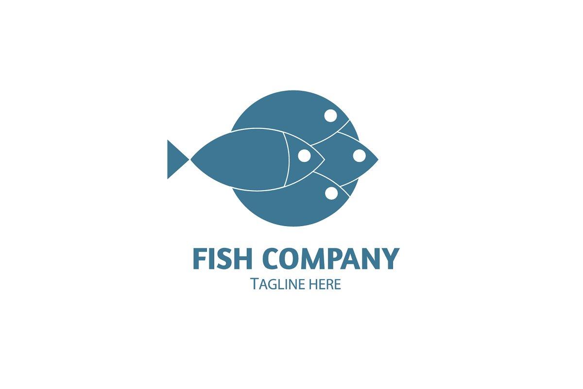 Fish logo Vector Template in Logo Templates