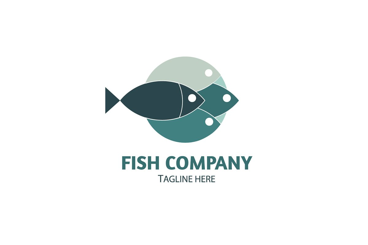 Fish logo Vector Template in Logo Templates - product preview 1