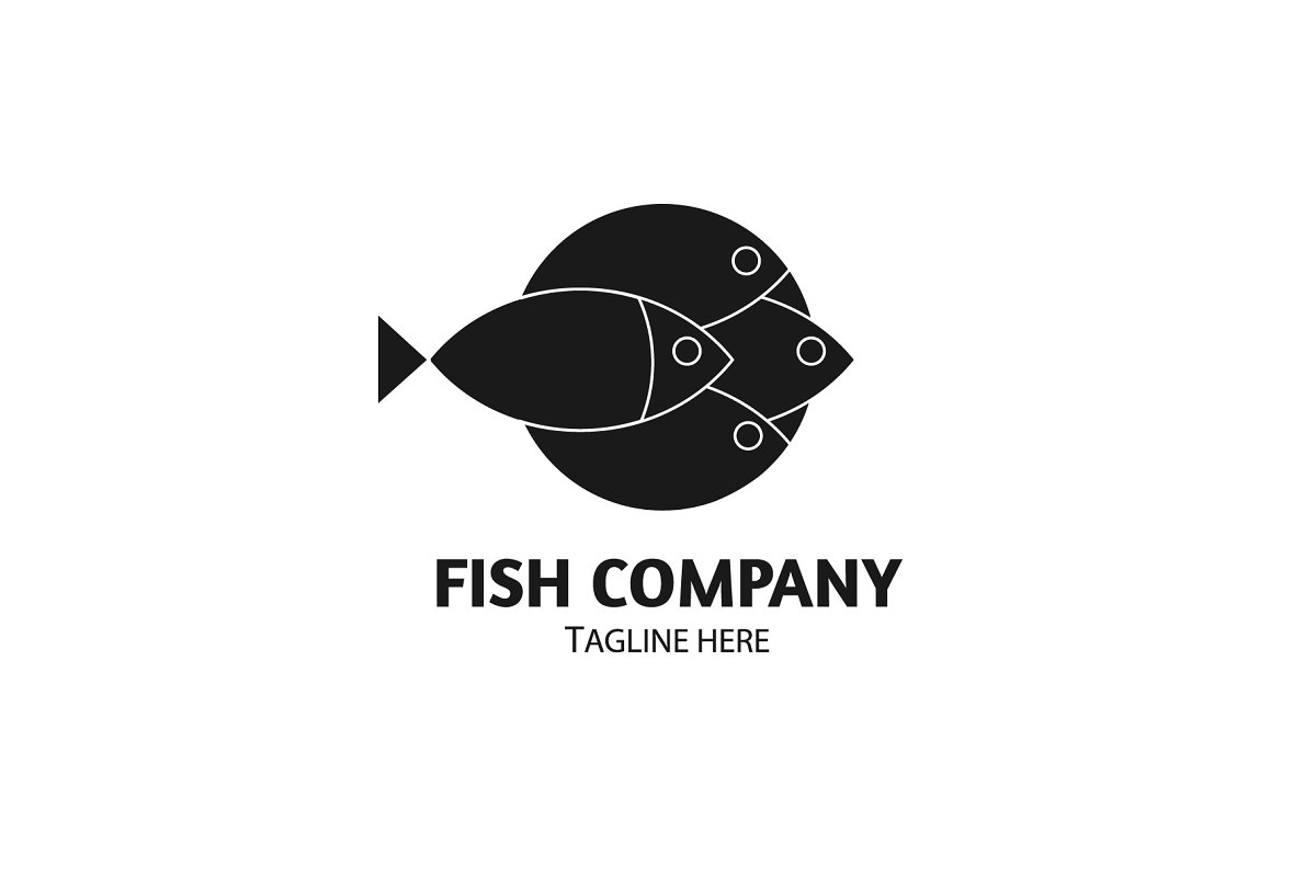 Fish logo Vector Template in Logo Templates - product preview 2